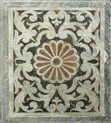 ornament marble floor