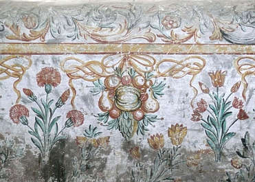 ornament mural painting plaster