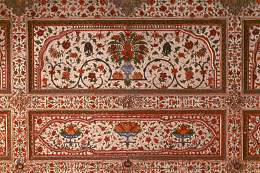 india mural painting ornament ornate