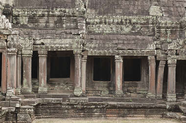 cambodia facade wall building pillars