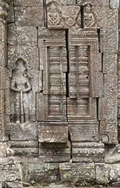 cambodia ornate ornament relief