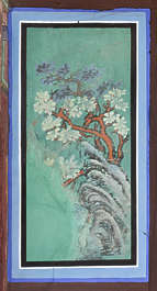 south korea ornament temple ornate mural painting asian asia panel
