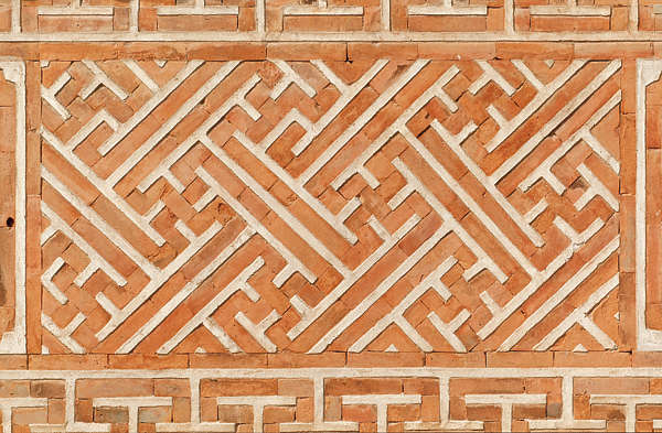 south korea ornate bricks ornament brick