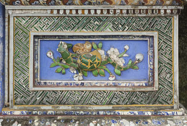 ornament asian vietnam border trim panel