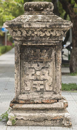 ornament asian vietnam panel