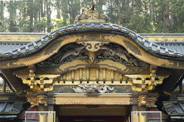 ornament roofing roof details temple shrine detail gilded gold