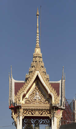 thailand bangkok asia asian ornate ornament roof pediment