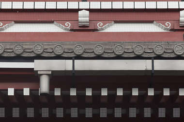 japan asia border roofing roof ornate