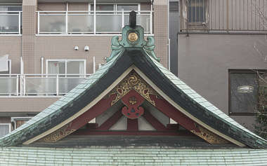 japan asia roof asian ornate