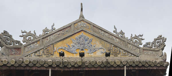ornament asian vietnam roofing