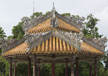 ornament asian vietnam roof roofing