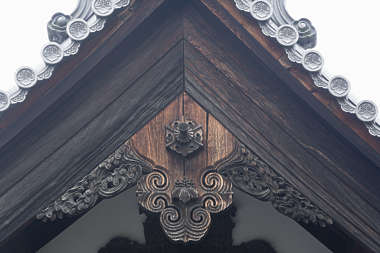 asia japan oriental roofing ornament details