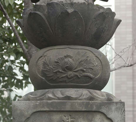 japan asia stone relief