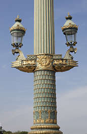 ornate streetlight ornament