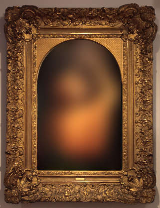painting frame ornate portrait