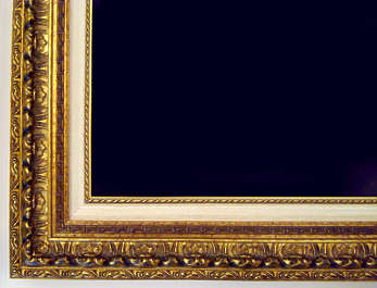 painting frame gold gilded