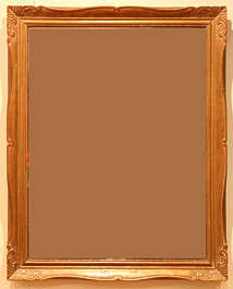 painting frame gilded