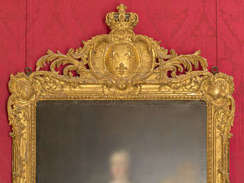 painting gold frame ornate ornament gilded