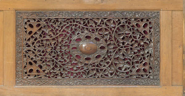 UK wood panel ornate