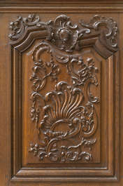 wood panel ornament church ornate carving carved
