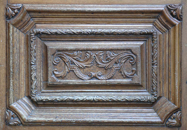 ornament wood panel