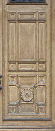 panel wooden ornate