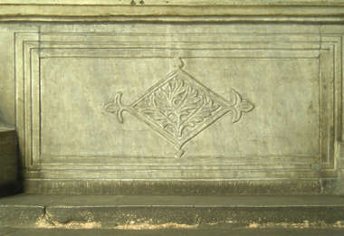 ornament panel stone marble