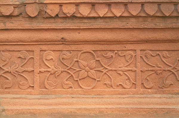 india ornament trim border stone carving