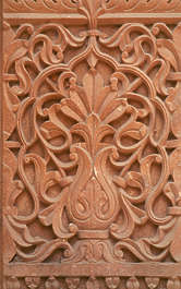 india panel carving stone relief ornament ornate