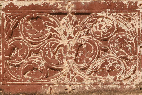 india ornament panel ornate