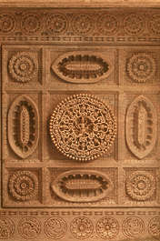india ornament panel ornate carving