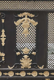 thailand bangkok asia asian ornate glided ornament panel
