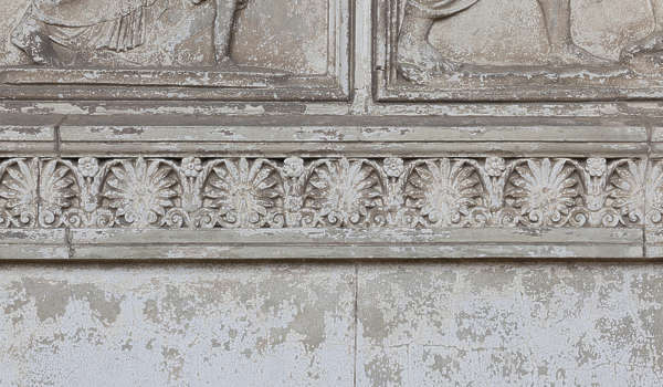 ornate ornament panel relief
