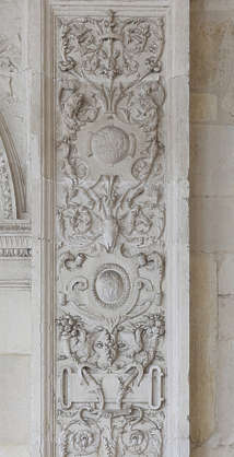 relief ornament ornate panel spain