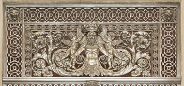 ornament ornate france panel relief