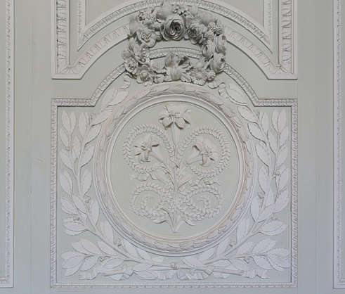ornament panel ornate flowers floral