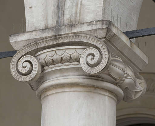 ornament ornate pillar column