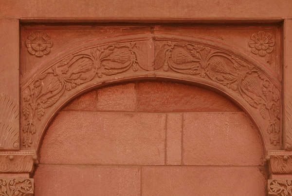 india ornament arch arches column stone brick temple