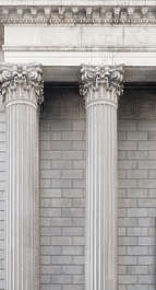new york ny ornament pillar pillars column building