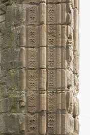 brick medieval ornament ornate cathedral UK