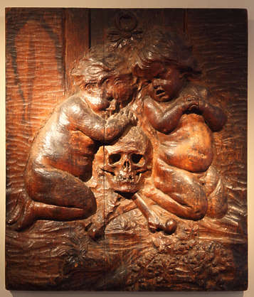 wood carving relief