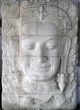 ornament relief thai thailand buddha