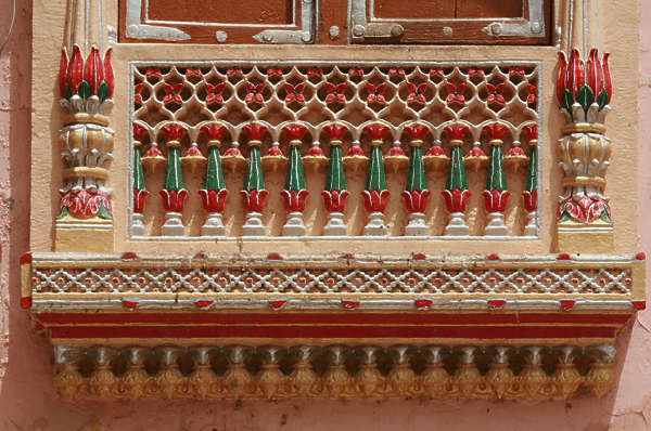 ornament ornate balcony old