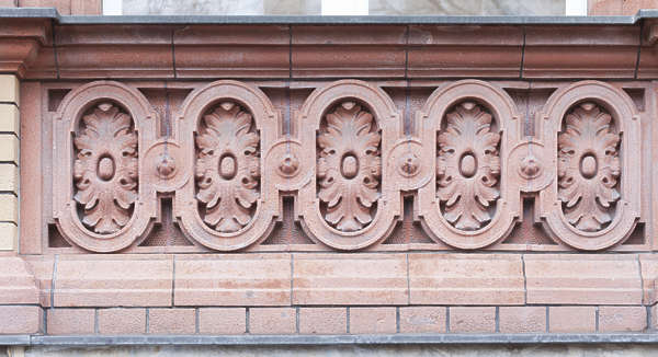 ornate ornament relief border