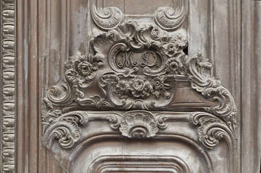 ornament wooden relief spain