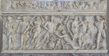 ornament ornate panel relief france