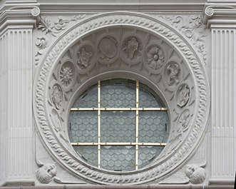 ornament ornate window round