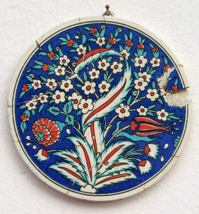 ornament tile round