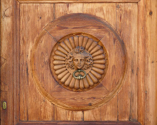 ornament panel carving wood