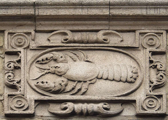 ornament stone lobster
